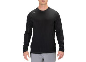 8e3c489512 5.11 Tactical Range Ready Merino Wool Long Sleeve Shirt, Black - 40164-019-