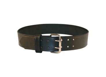 Duty Belt Black Weave Width: 2-1//4 Leather Size: 38
