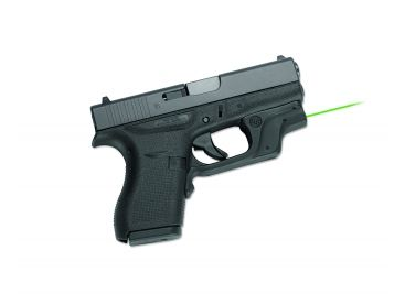 Crimson Trace Laserguard Green Laser Sight for Glock 42 & Glock 43