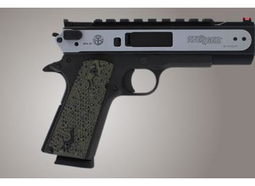 Hogue G-10 Grips for 1911 Govt , Piranha pattern
