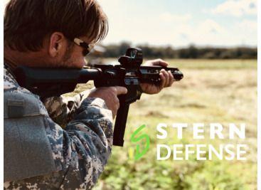 Stern Defense AR-15 10 inch Assembled 9mm Upper Receiver w/8 5 inch MLOK  Rail